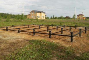 Фундамент на винтовых сваях под ключ в Санкт-Петербурге от СилаСваи