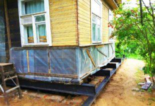 Подъем фундамента в Санкт-Петербурге от СилаСваи